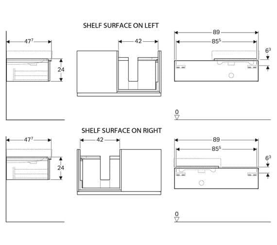 Technical drawing QS-V93778 / 840590000