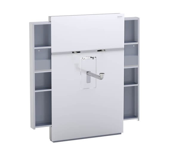 Alternate image of Geberit Monolith Washbasin Sanitary Module - For Deck Mounted Tap