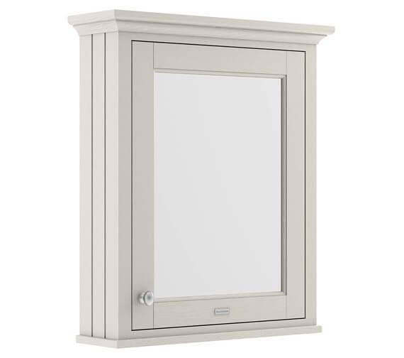 Old London 600mm Single Door Mirror Cabinet