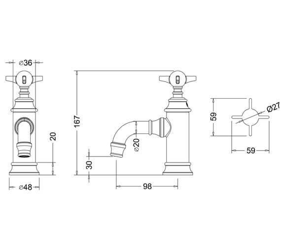 Technical drawing QS-V9383 / ARC12 CHR