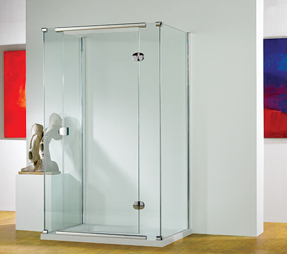 Additional image of Kudos Infinite 1900mm High Straight Hinged Shower Door