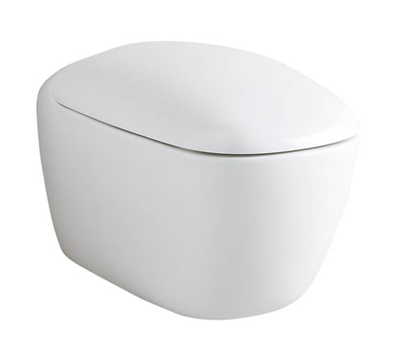 Geberit Citterio 360 x 560mm Wall Hung Rimless Toilet With Seat