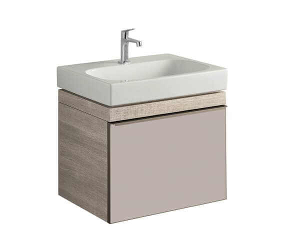 Geberit Citterio 554mm High Single Drawer Vanity Unit