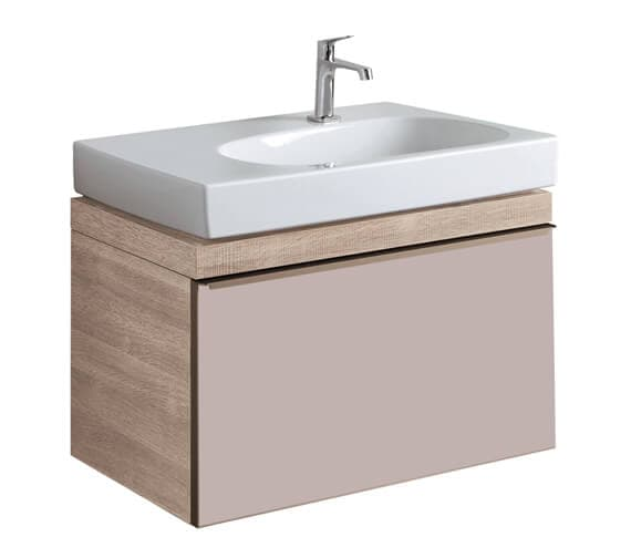 Additional image of Geberit Citterio 554mm High Single Drawer Vanity Unit