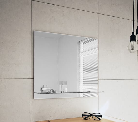 Bathroom Origins Ledge Straight Mirror - B004853