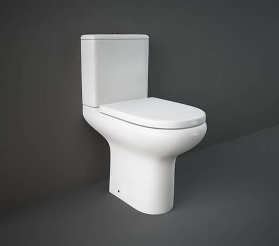 RAK Compact Deluxe Close Coupled Full Access Open Back WC Pak 625mm