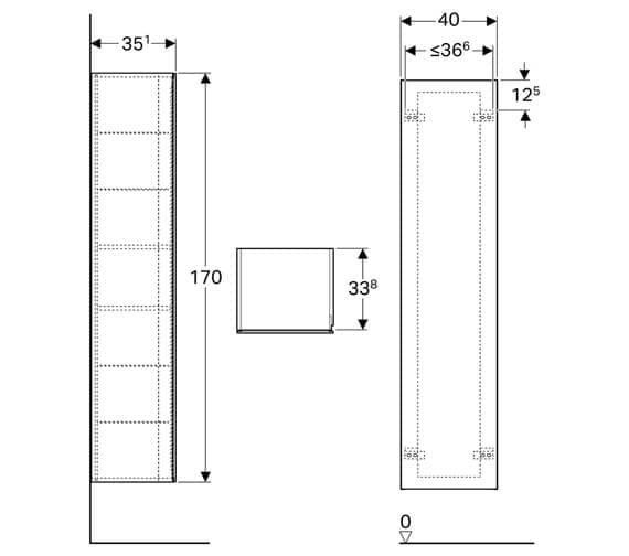 Technical drawing QS-V93746 / 500.503.01.1