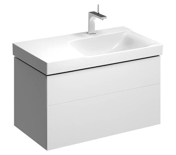 Additional image of Geberit Xeno2 880 x 462mm Two Drawers Unit For Shelf Surface Basin