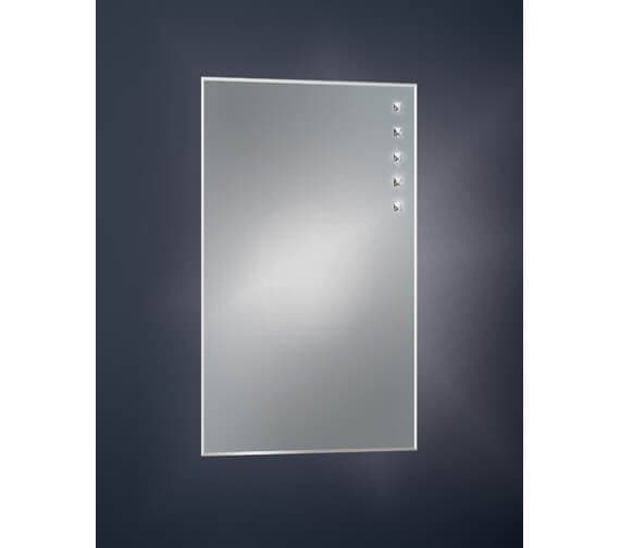 Bathroom Origins Decorative Crystalline Mirror - B005874