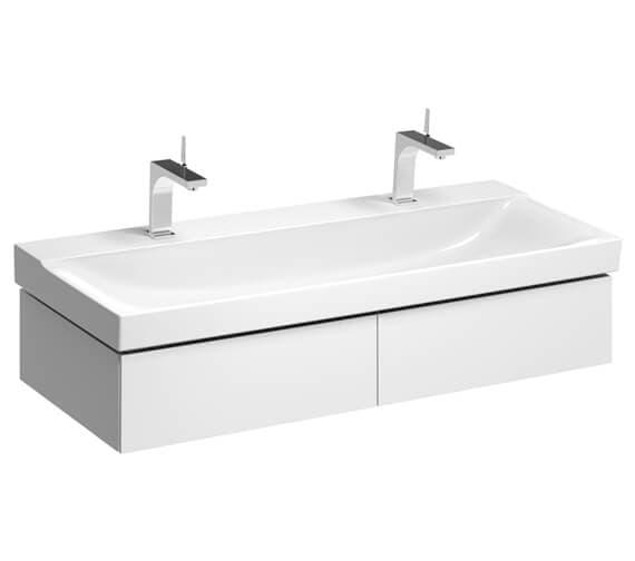 Geberit Xeno2 1174 x 462mm Two Drawers Vanity Unit