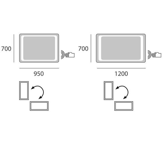 Technical drawing QS-V95579 / BRA.7095.101.S