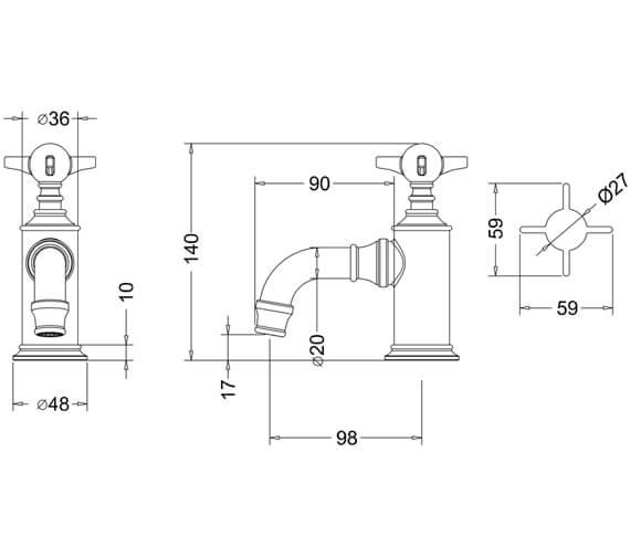 Technical drawing QS-V9388 / ARC36 CHR