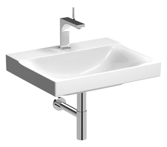 Geberit Xeno2 480mm Depth White Washbasin