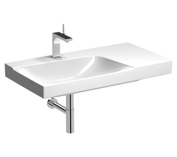 Additional image of Geberit Xeno2 900 x 480mm Basin With Shelf Surface
