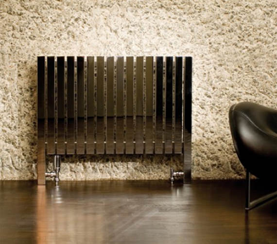 Aeon Arat L 760mm High Stainless Steel Designer Radiator Polished