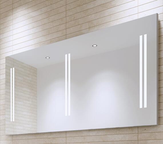 Bathroom Origins Unico Backlit LED Mirror - B004693