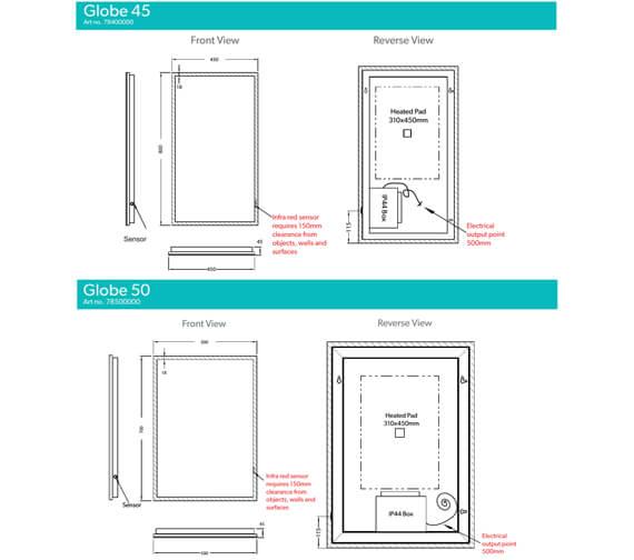 Technical drawing QS-V95436 / 78500000