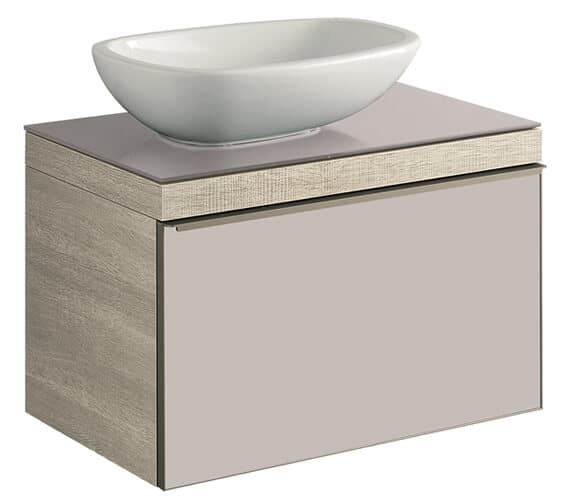 Geberit Citterio Single Drawer Vanity Unit For Countertop Basin