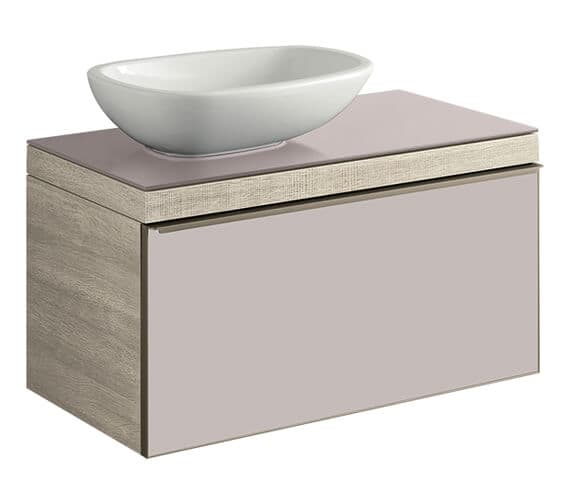 Additional image of Geberit Citterio Single Drawer Vanity Unit For Countertop Basin