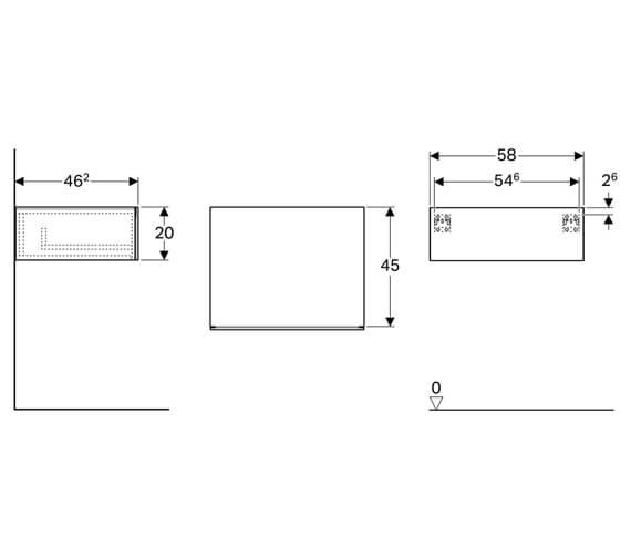 Technical drawing QS-V93748 / 500.507.01.1