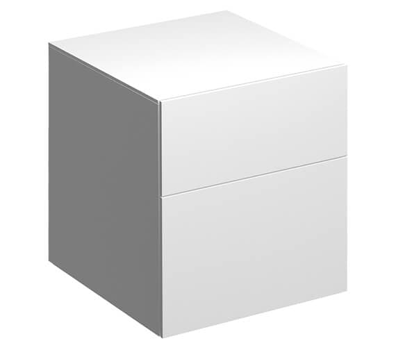 Geberit Xeno2 450 x 462mm Two Drawers Low Cabinet