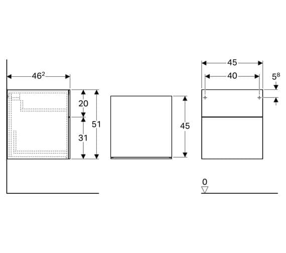 Technical drawing QS-V93747 / 500.504.01.1