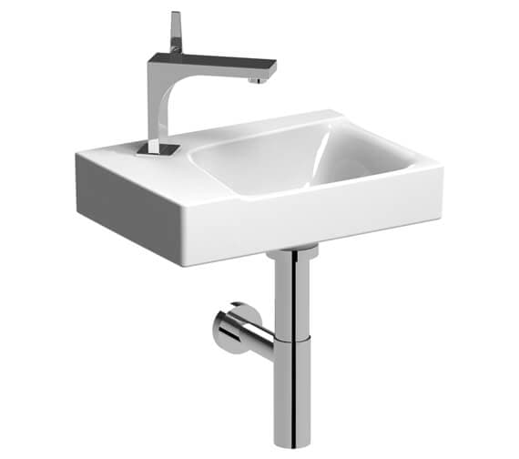 Geberit Xeno2 400 x 280mm Single Tap Hole Handrinse Basin