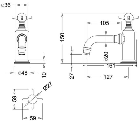 Technical drawing QS-V9387 / ARC17 CHR