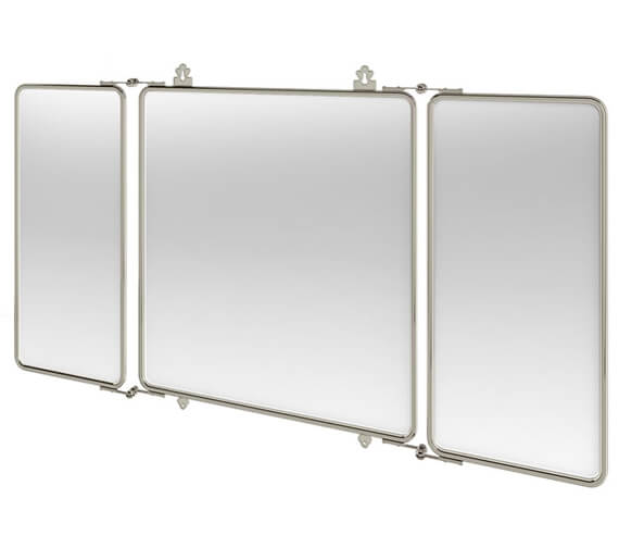 Burlington Arcade Three Fold Bathroom Mirror