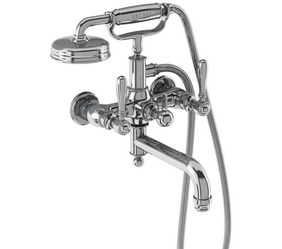 Additional image of Burlington Arcade Wall Mounted Bath Shower Mixer Tap