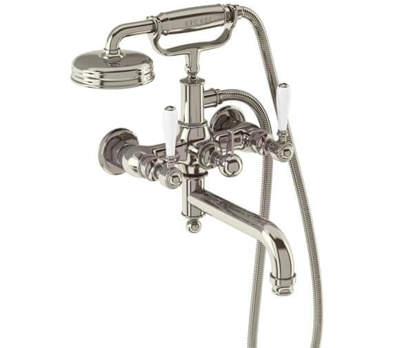 Alternate image of Burlington Arcade Wall Mounted Bath Shower Mixer Tap