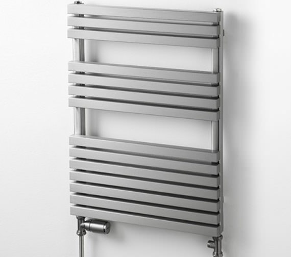 Aeon Atilla 500mm Wide Stainless Steel Towel Rail