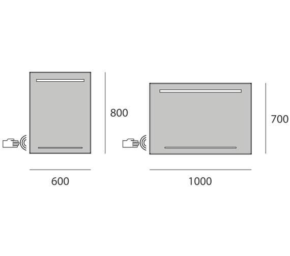 Technical drawing QS-V95588 / B004716