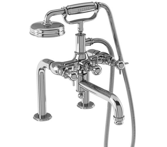Burlington Arcade Deck Mounted Bath Shower Mixer Tap
