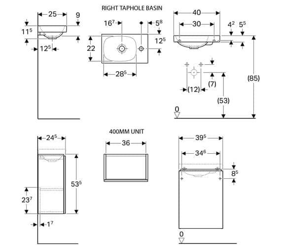 Technical drawing QS-V93752 / 500.607.01.2