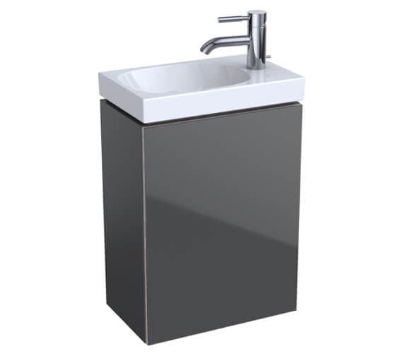 Additional image of Geberit Acanto Single Door Unit And Handrinse Basin