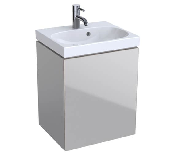 Alternate image of Geberit Acanto Single Door Unit And Handrinse Basin
