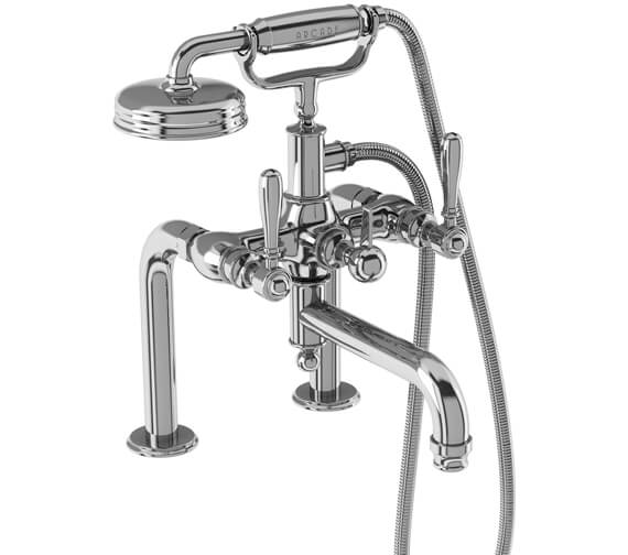 Additional image of Burlington Arcade Deck Mounted Bath Shower Mixer Tap