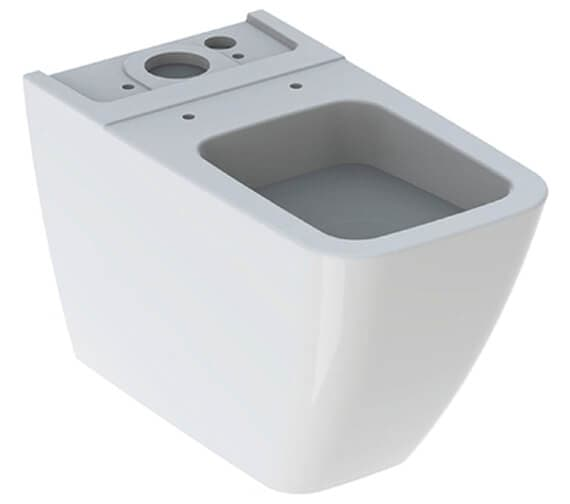 Geberit Icon Square 355 x 640mm Back To Wall Floorstanding Toilet