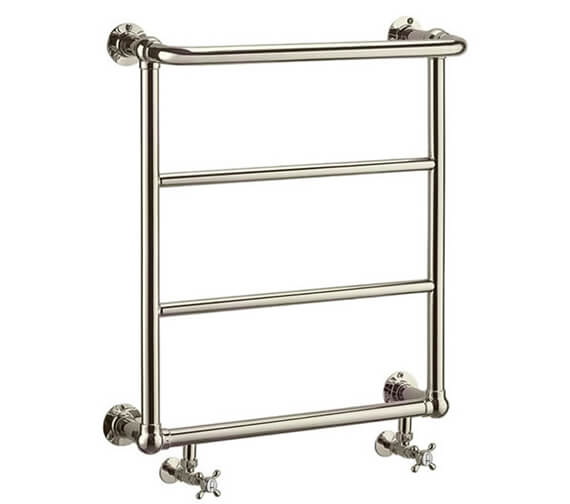 Burlington Arcade Babble Nickel Heated Towel Rail