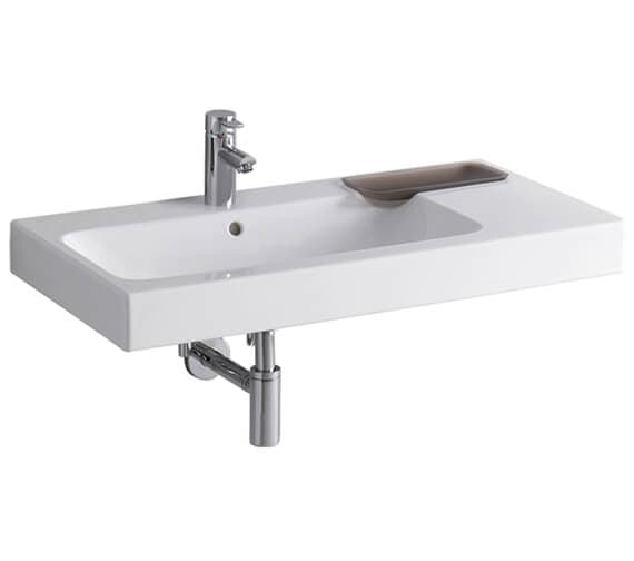 Geberit Icon 900 x 485mm Washbasin With Shelf Surface