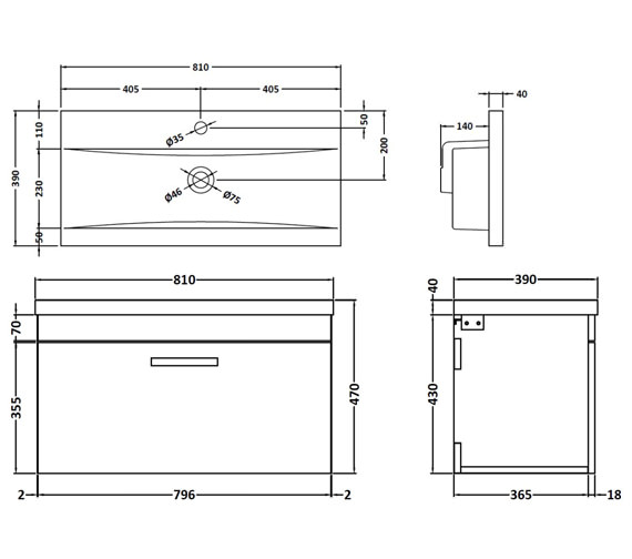 Technical drawing QS-V42360 / ATH062A
