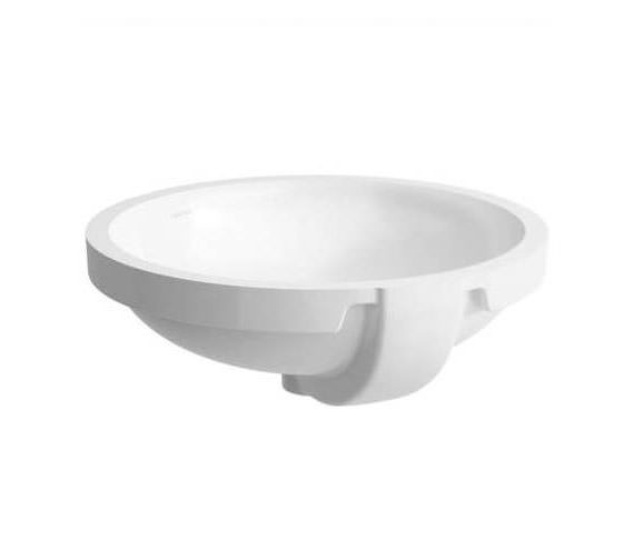 Laufen Pro B 465 x 470mm Built-in Round Washbasin Without Tap Ledge
