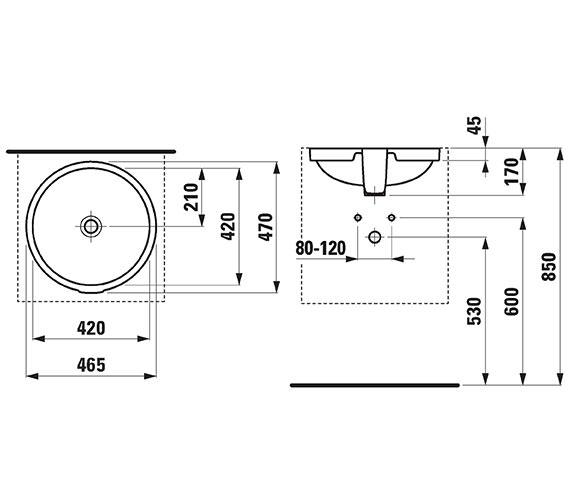 Technical drawing QS-V41948 / 189610001091
