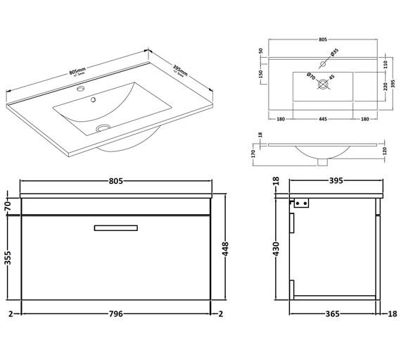 Technical drawing QS-V42361 / ATH062B