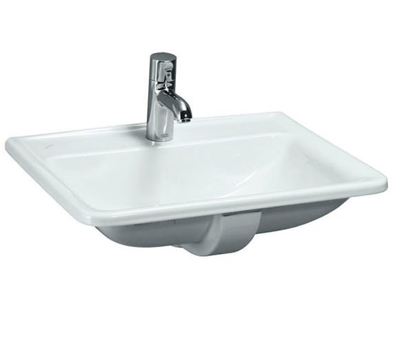 Laufen Pro A 560 x 440mm Inset Basin With 1 Tap Hole