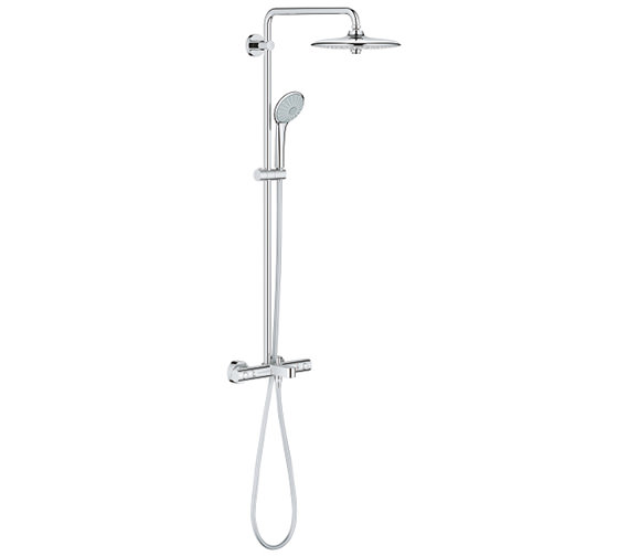 Grohe euphoria concetto 260 shower system with thermostat - Grohe concetto shower ...
