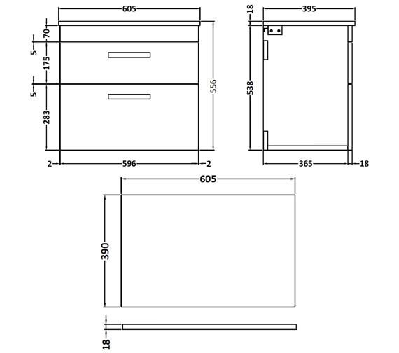 Technical drawing QS-V42359 / ATH048W