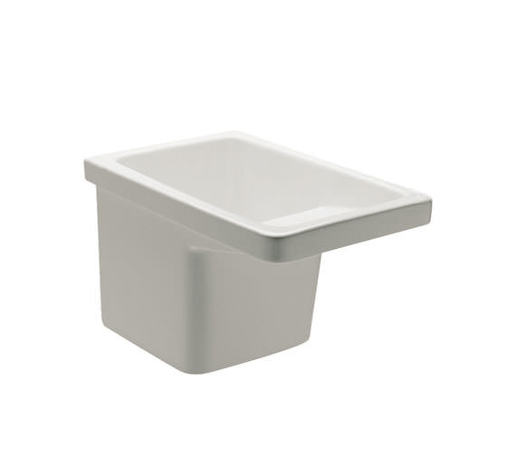 Roca Henares 390 x 600mm Vitreous China Laundry Sink