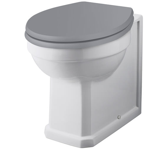 Bayswater Fitzroy 520mm Comfort Height Back To Wall WC Pan